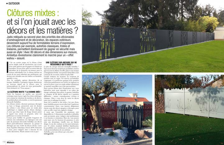 article magazine univers de la maison mars avril